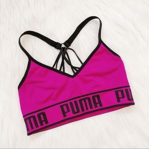 Puma Hot Pink Sports Bra